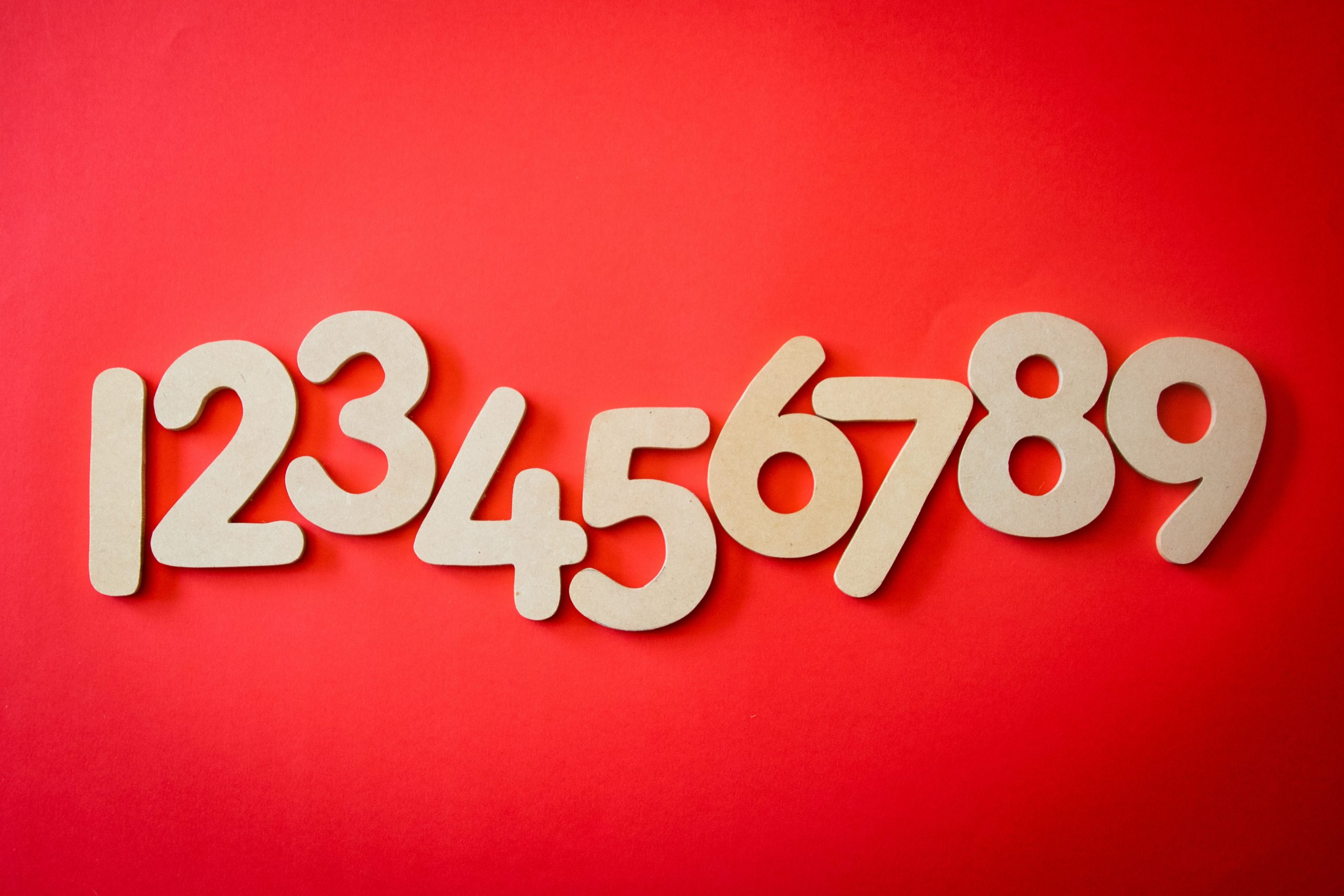 IT'S ALL ABOUT NUMBERS